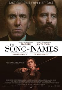 Song of names - poster