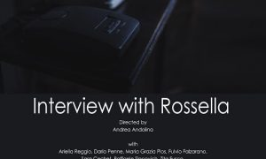 A colloquio con Rossella - Locandina - Andrea Andolina