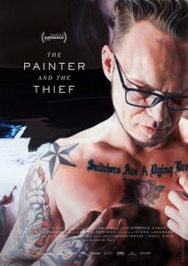 The Painter and the Thief - poster