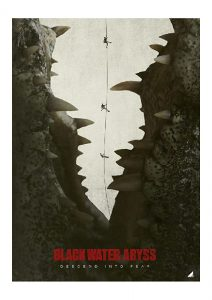 black water abyss - Affiche