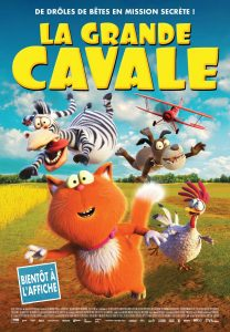 LA GRANDE CAVALE - Affiche