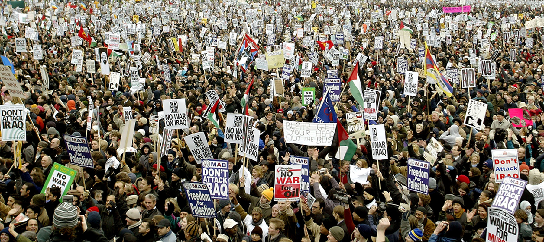 We are Many - La plus grande manifestation de l'histoire