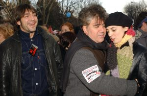 Celebrities Attends Anti-War Demostration In Madrid - We are many