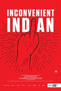 poster - inconvenient indian