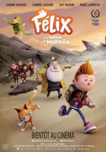 Félix et le trésor de Morgaa - poster