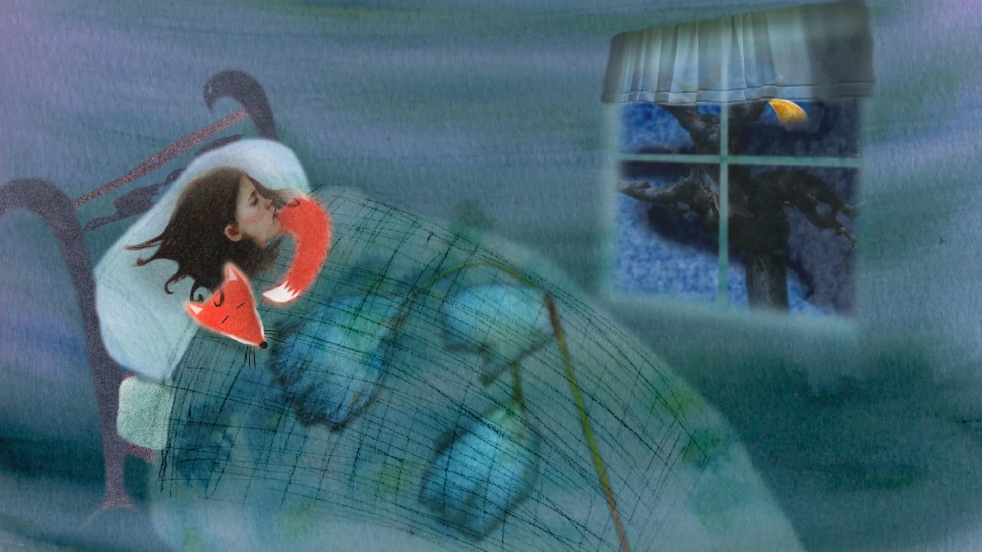 Le grand châle d'Aamu — Conte philosophique
