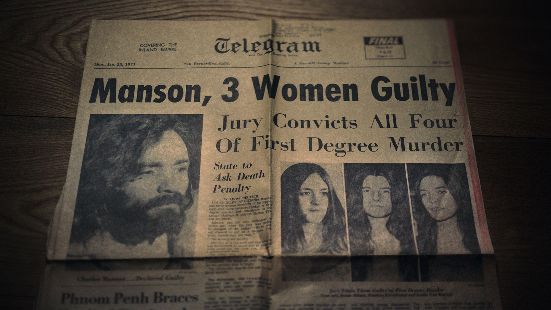 Helter Skelter – An American Myth: Charles Manson – The Dark Side of the Sixties Counterculture