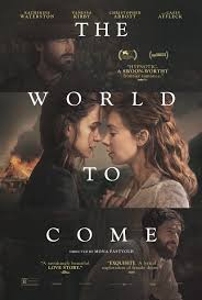 The world to come - poster