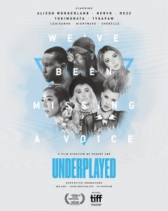 Underplayed - poster