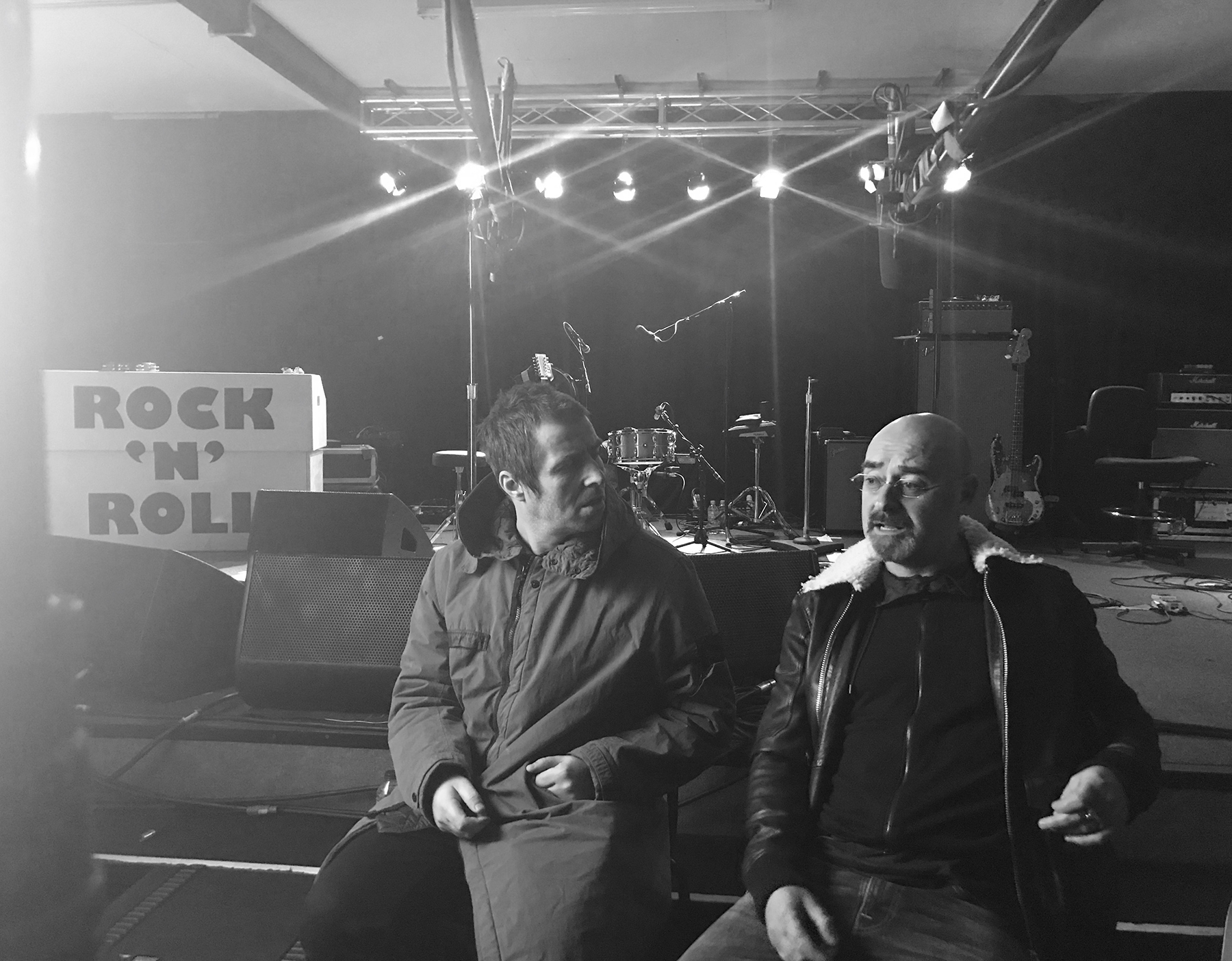 Rockfield - Groupes et histoires - Liam Gallagher and Bonehead_(c)ie ie productions