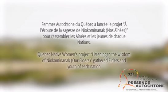 Listening to the Wisdom of Niokominanak (Our Elders) – The Female Memory of the First Peoples