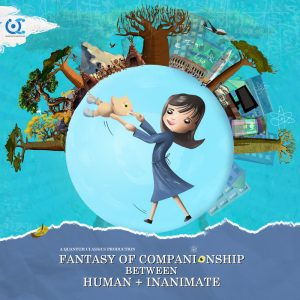 Fantasy of Companionship between human and inanimate - affiche